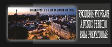 RECURSOS FEDERAIS A FUNDO PERDIDO PARA PREFEITURAS (CUIABÁ/MT - 3 E 4 DE OUTUBRO DE 2018)