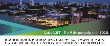 REGIME JURÍDICO DAS OSC (LEI Nº 13.019/2014) PARA ADM. PÚBLICA E ENTIDADES SEM FINS LUCRATIVOS. (CUIABÁ/MT- 8 e 9 DE NOVEMBRO DE 2018)